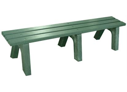 107643 Standard Golf Company  6 Ft. Bench-Brown SG100500BR